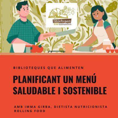 Planificant un menú saludable i sostenible